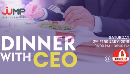 dinner with ceo Event cover